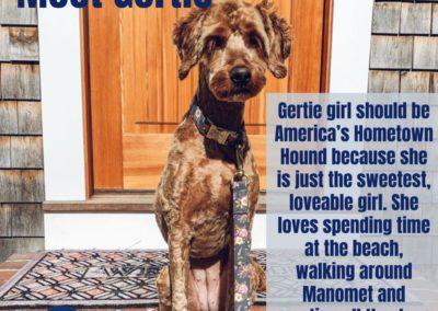 Gertie America's Hometown Hound contestant