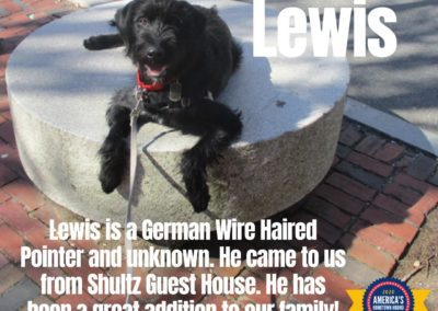 America's Hometown Hound contestant Lewis