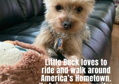 Little Buck America's Hometown Hound contestant