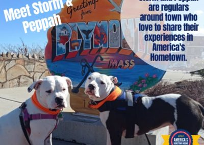 America's Hometown Hound contestant Storm and Peppah